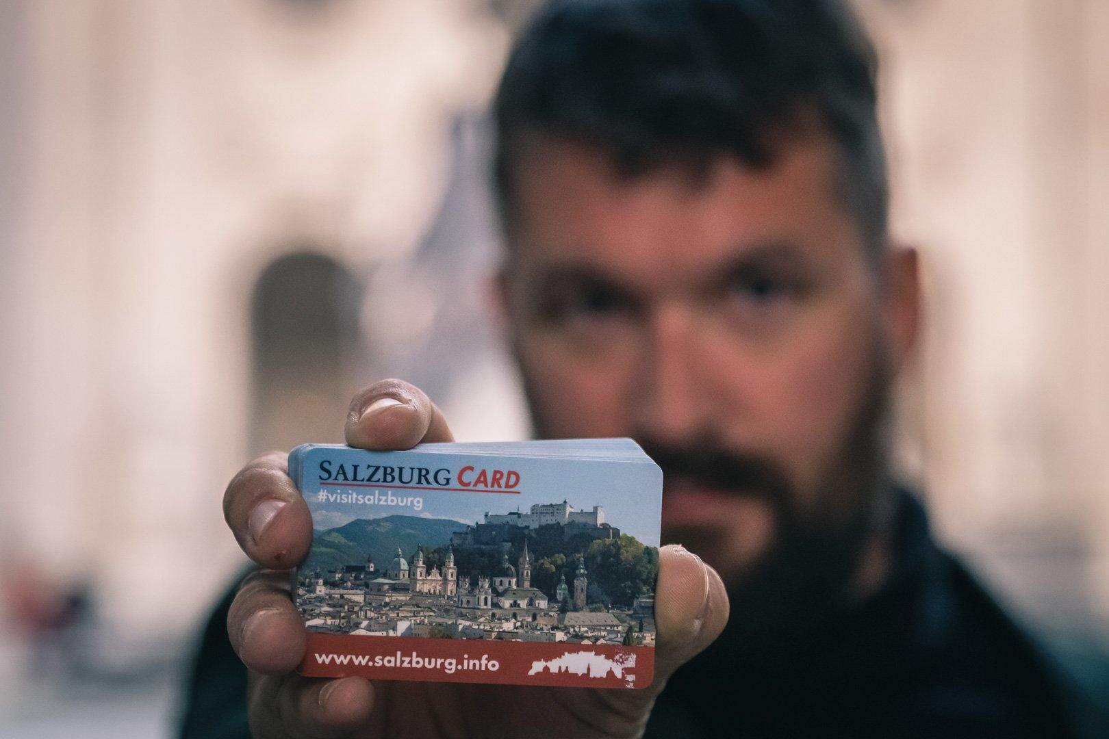 Gerhard Reus and the 24 hour Salzburg Card