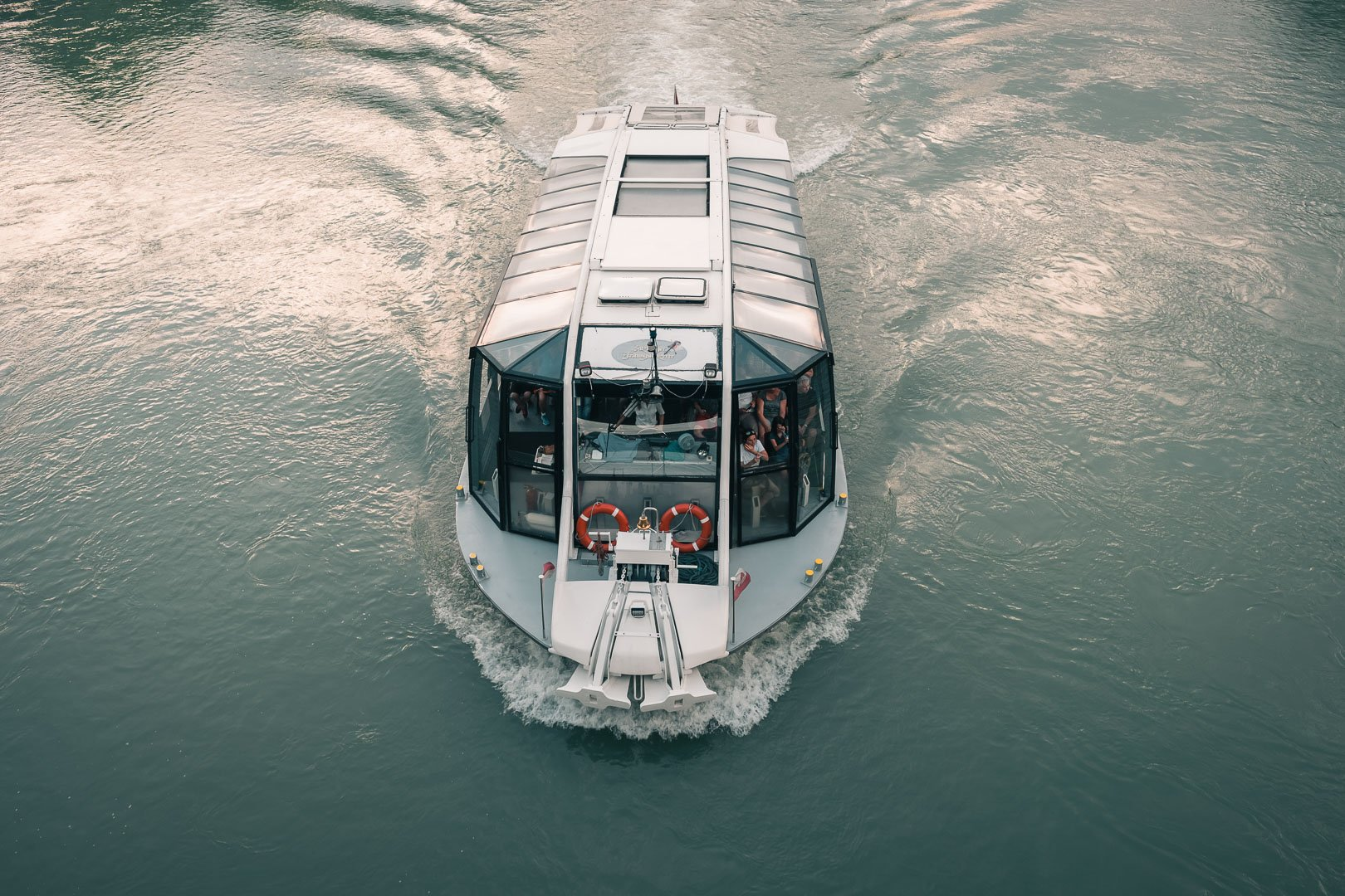 River Cruise Boat in Salzburg