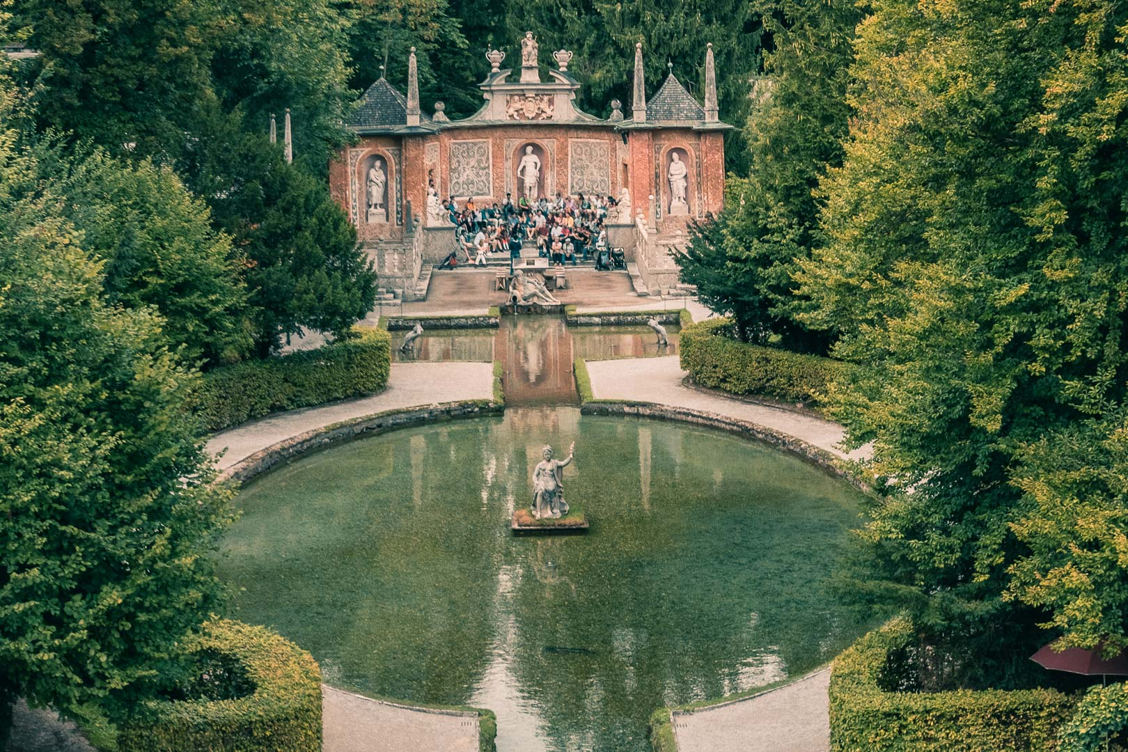 Hellbrunn Trick Fountain Tour