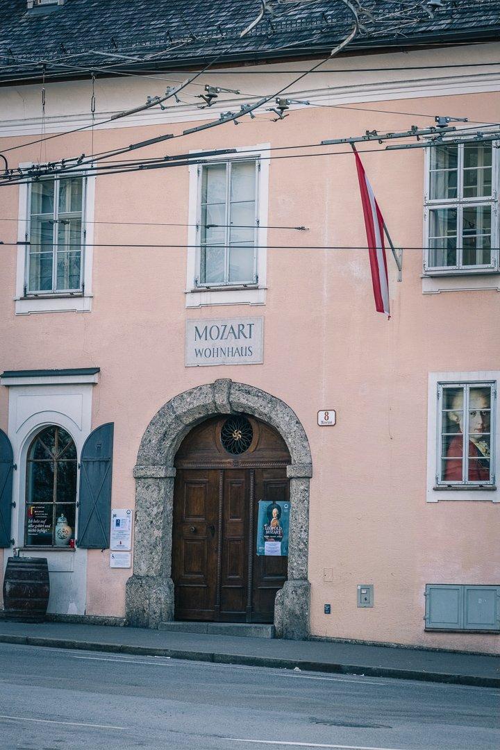 Mozart Residence entrance
