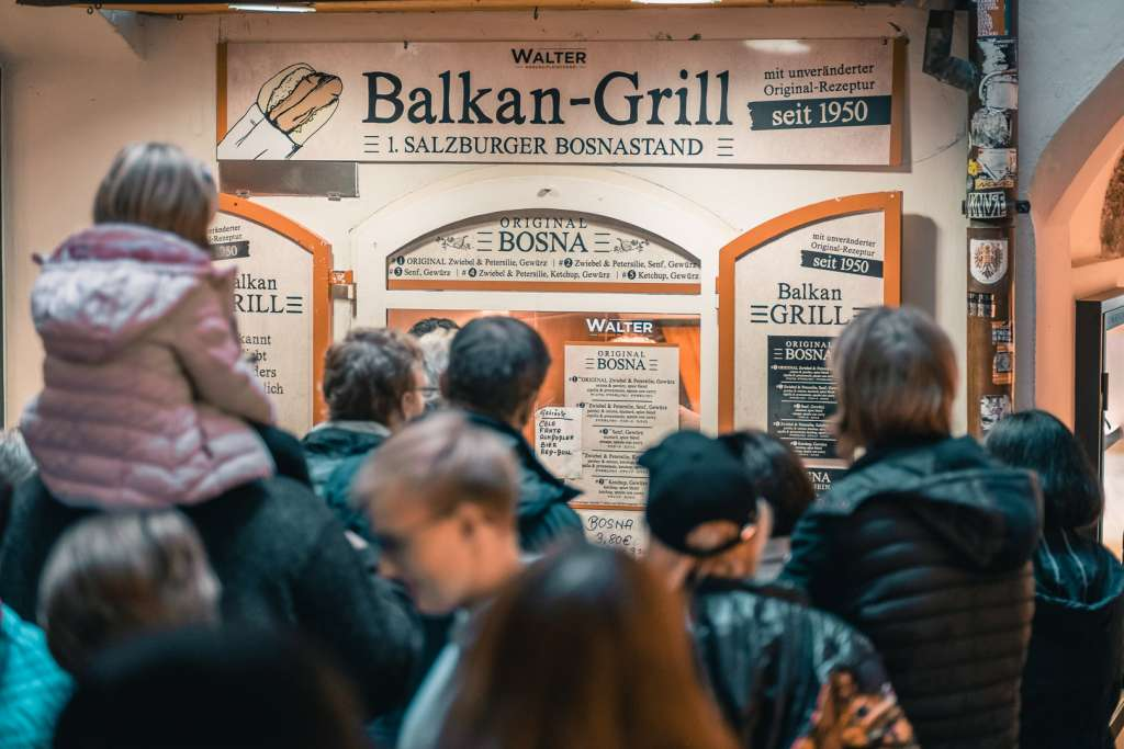 Original Bosna am Balkan Grill in der Getreidegasse