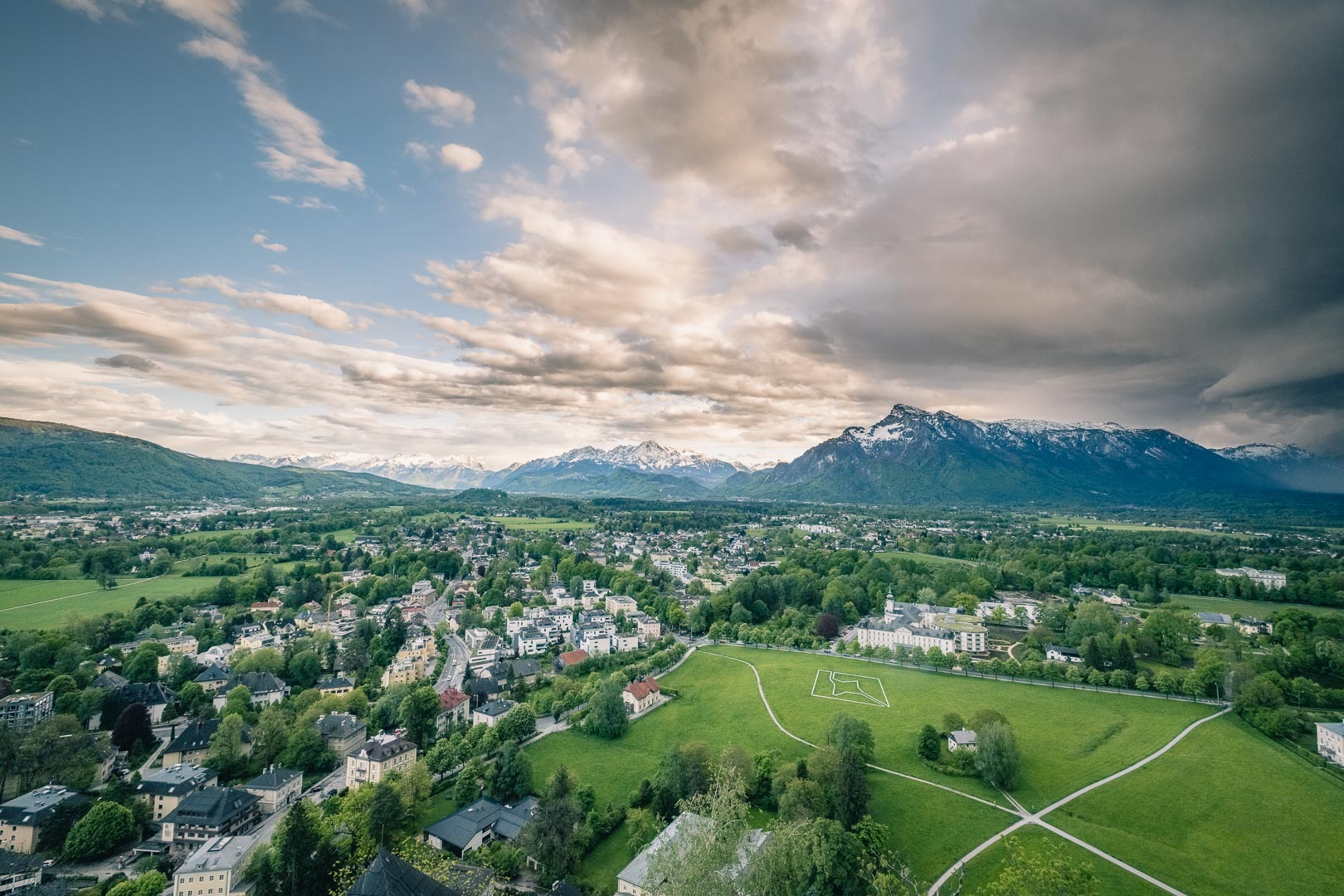 Landscape Photography on the Hohensalzburg Fortress