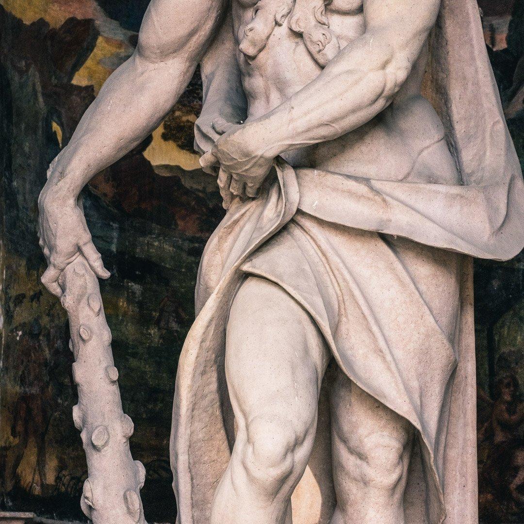 Hercules statue in Dietrichsruh