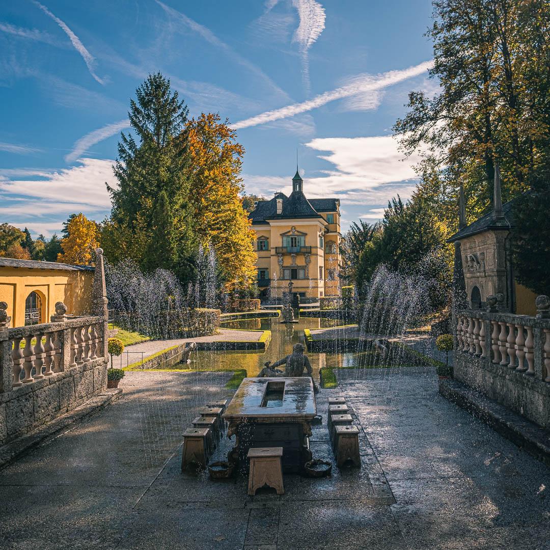 Tick Fountains at Hellbrunn palace