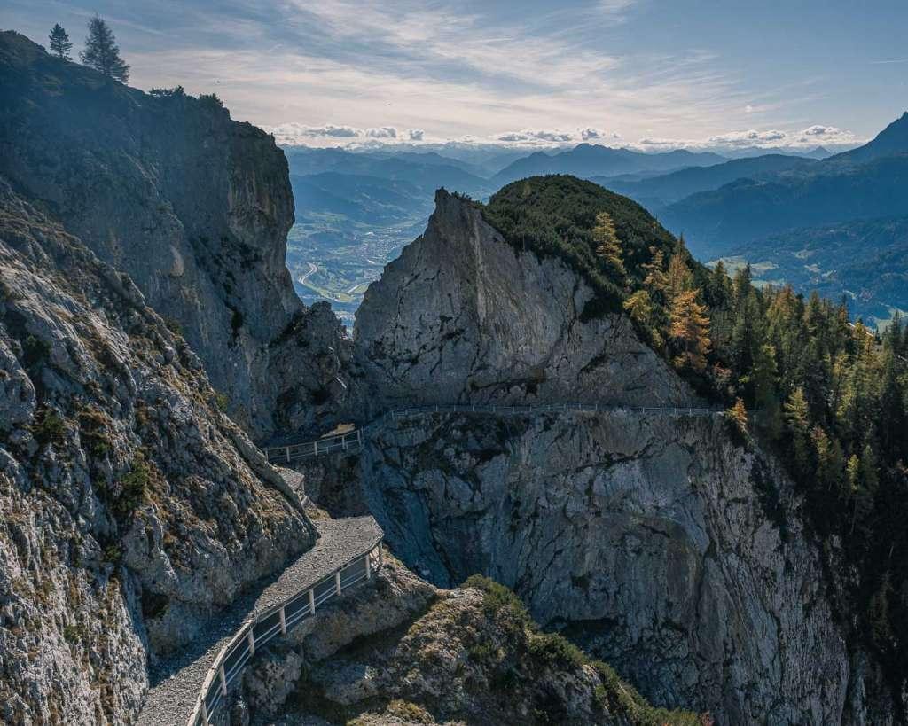 Hochkogel mountain peaks