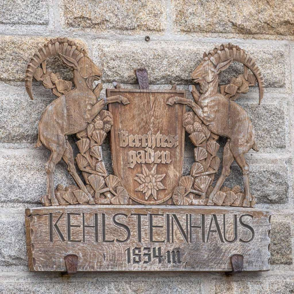 The sign at the Kehlsteinhaus