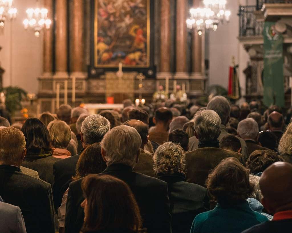 Mass at the Salzburg Cathedral