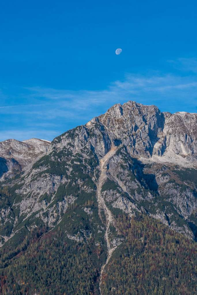 Mountain Peak seen from the Hochkogel mountain