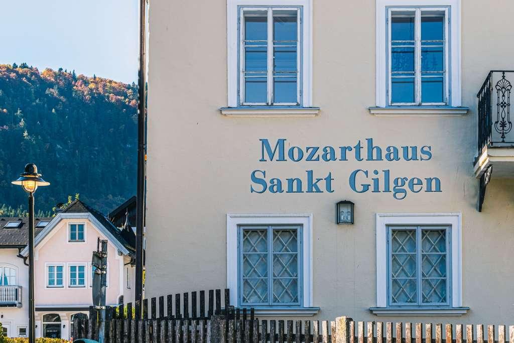 Mozart house Sankt Gilgen