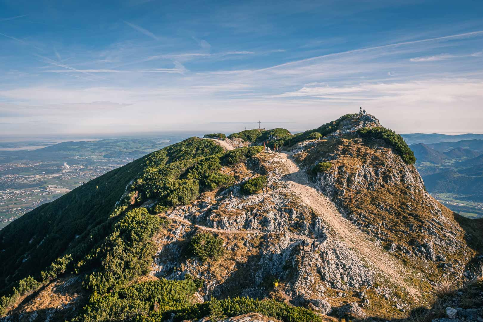Easy hiking path on Untersberg