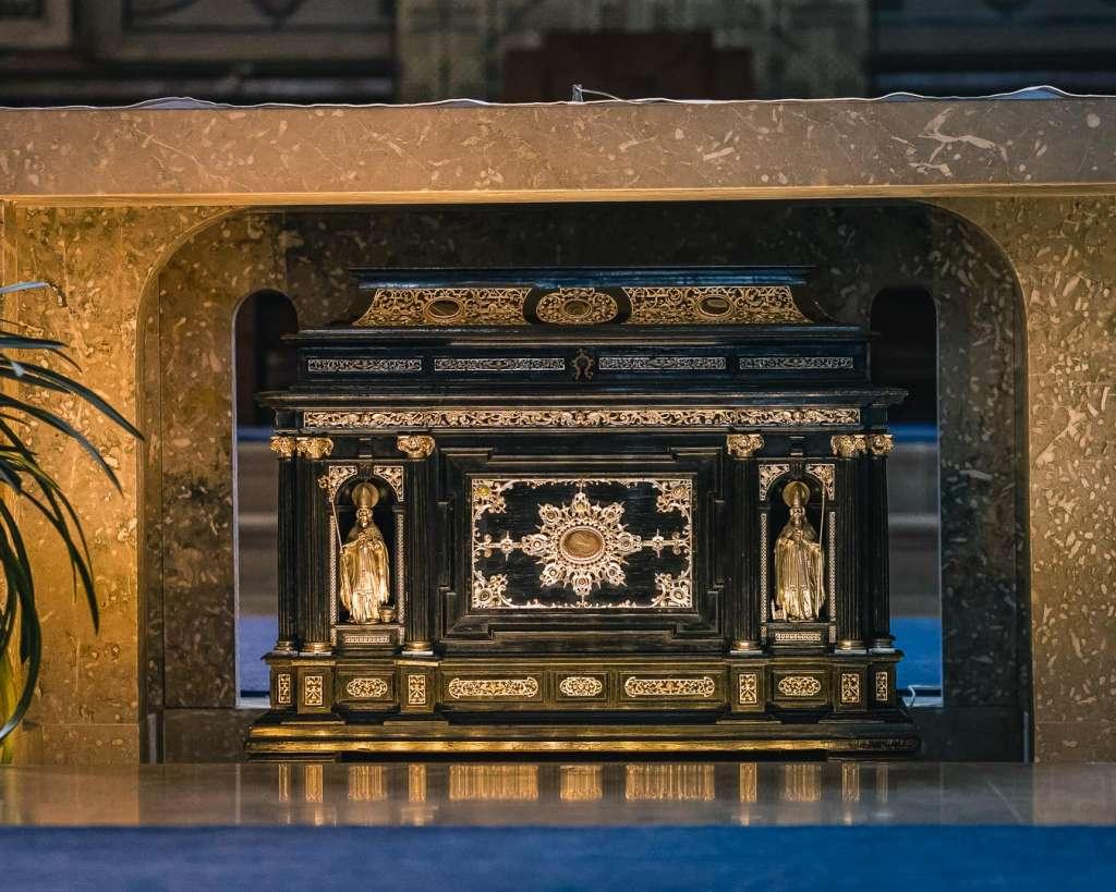 Die Reliquien des heiligen Rupert
