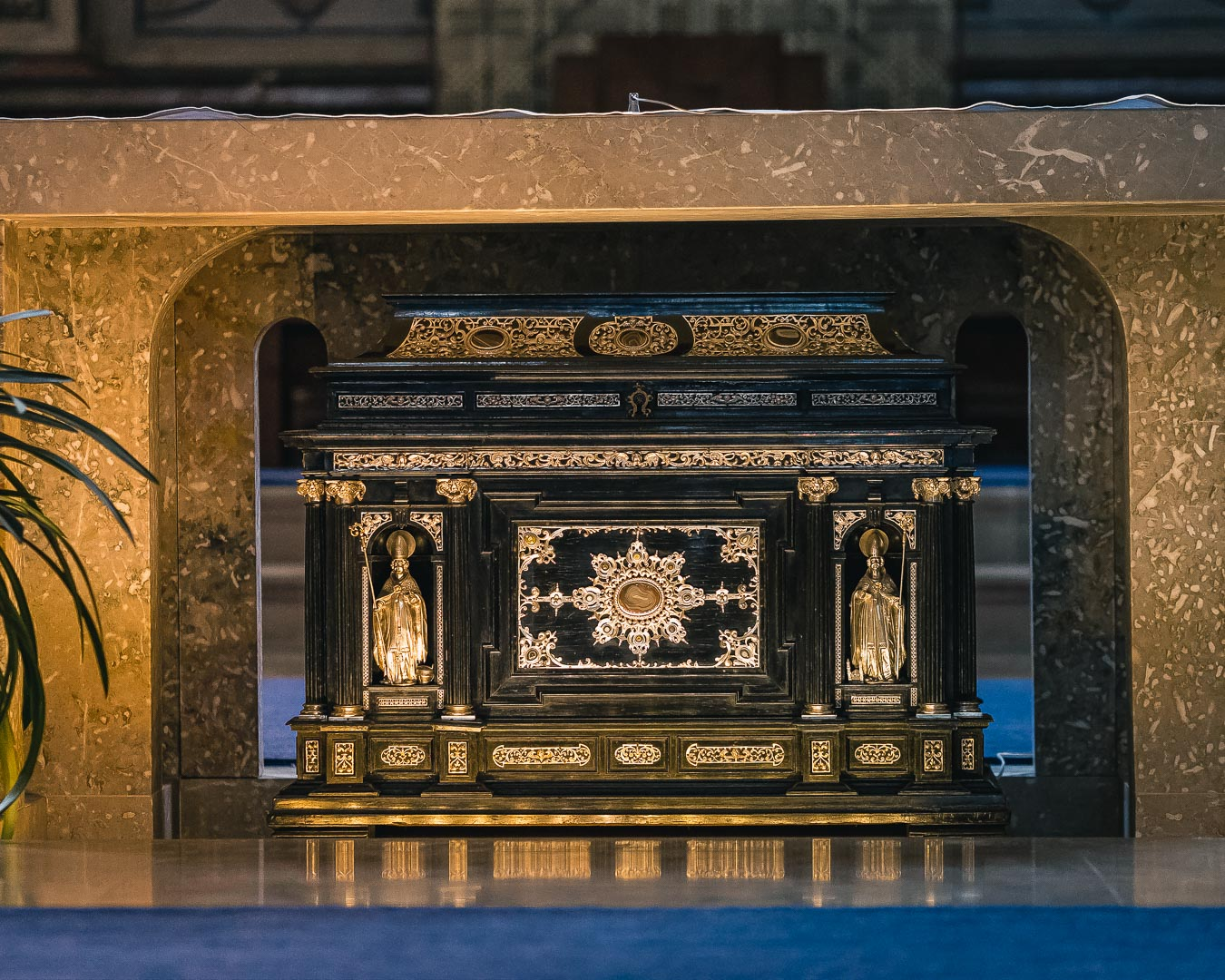 Saint Ruperts Relics in the Salzburg Cathedral