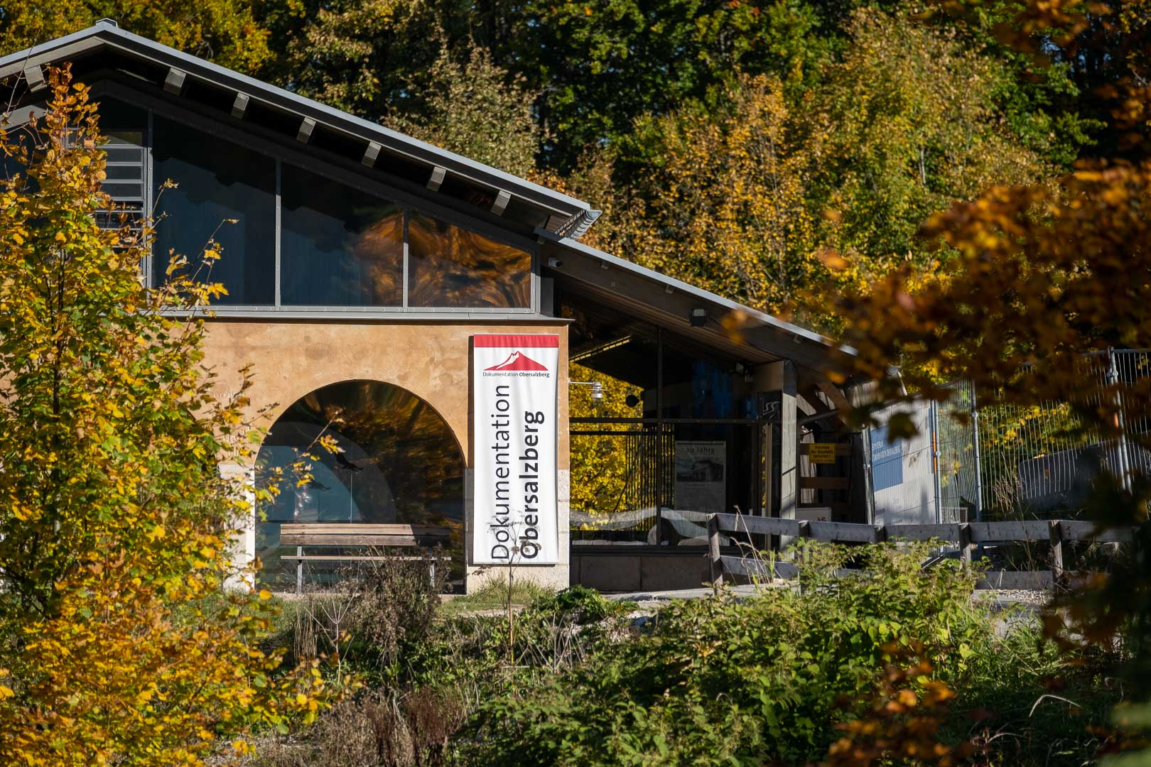 The documentation center at Obersalzburg