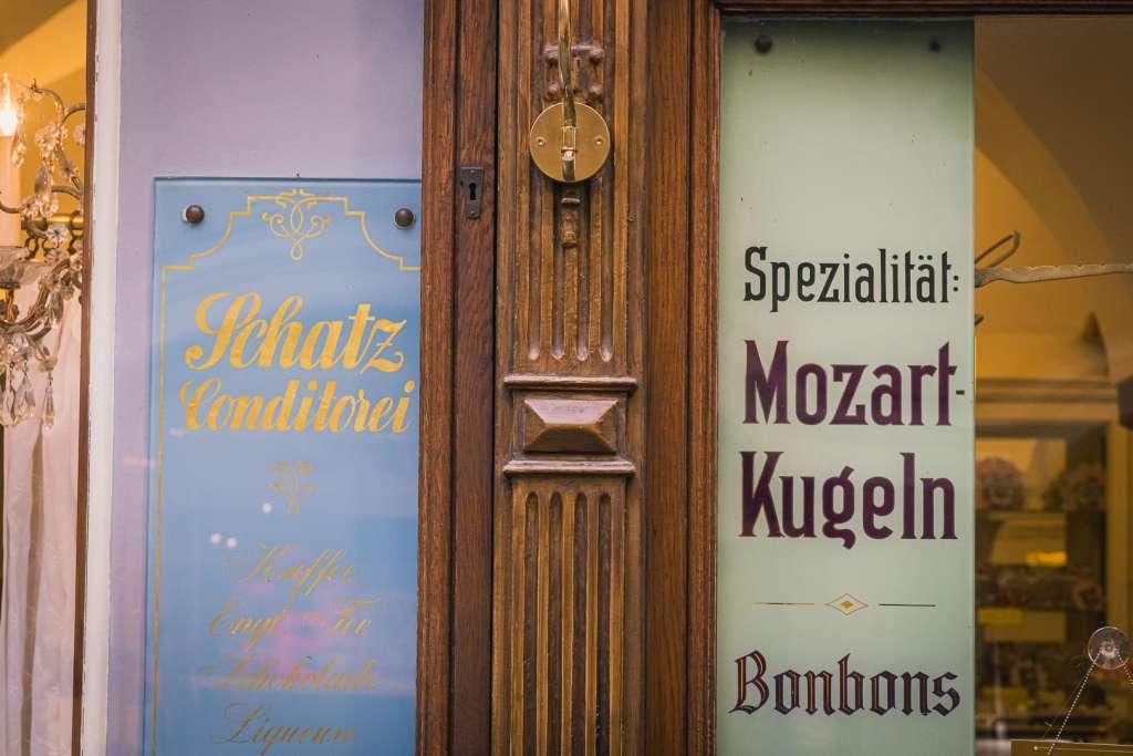Konditorei Schatz Mozartkugeln