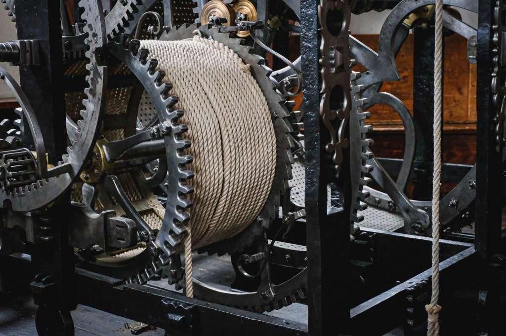 Mechanik des Salzburger Glockenspiels