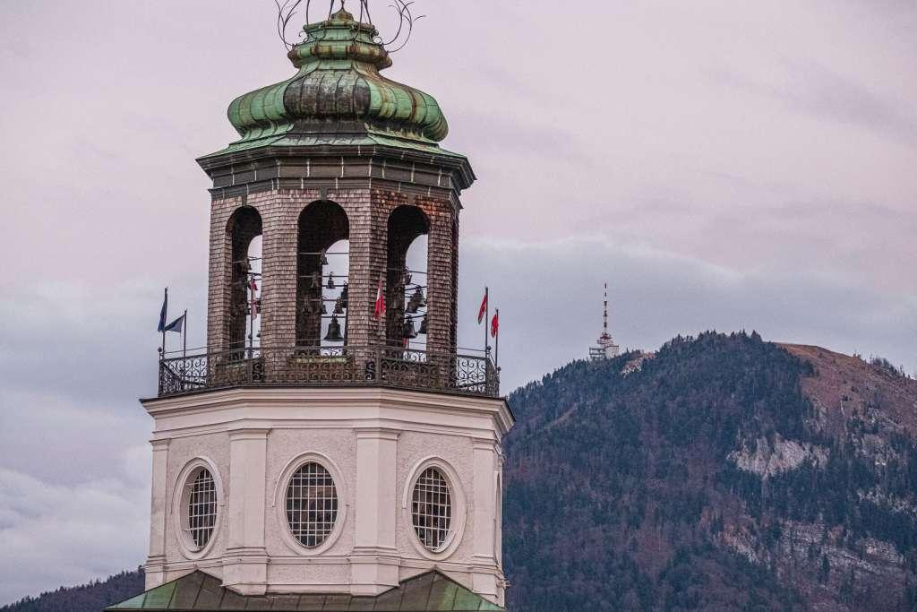 Glockenturm des Salzburger Glockenspiels