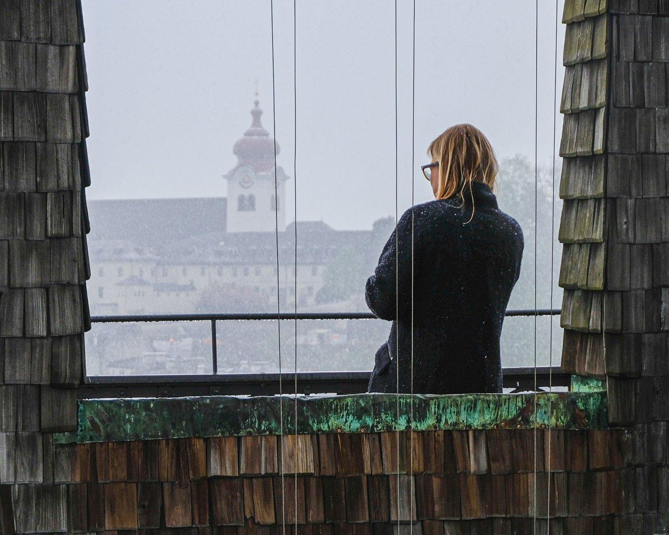 Bell Tower in Salzburg