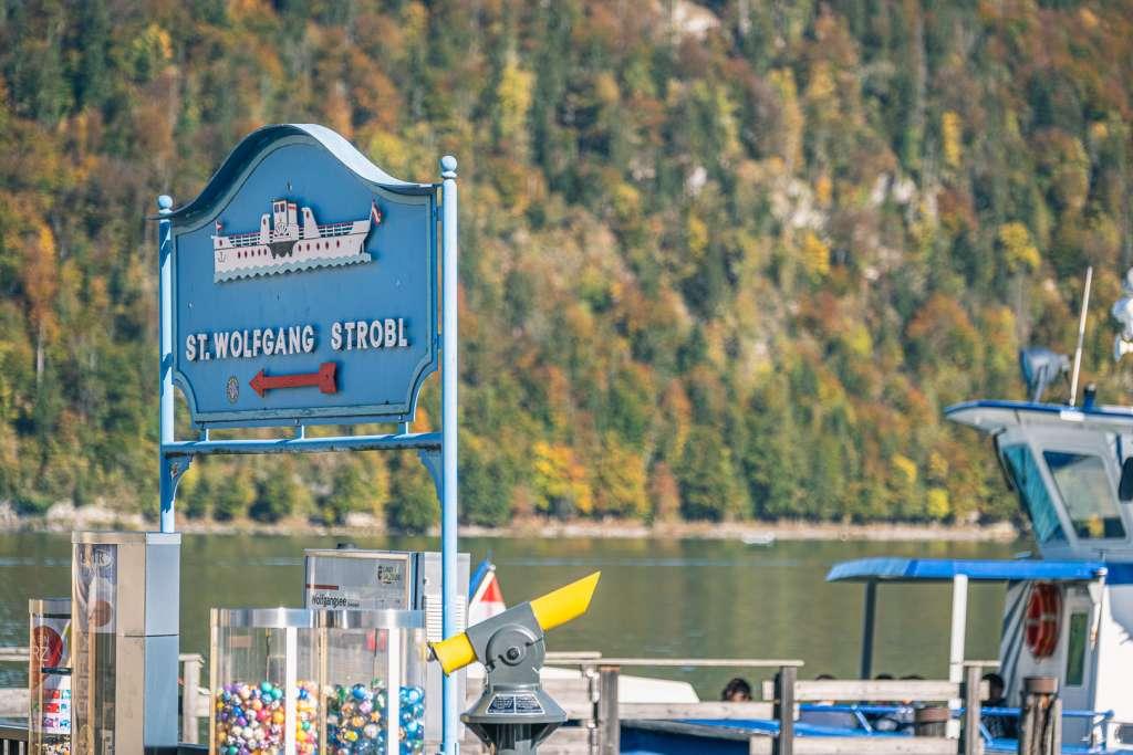 Schiffstour auf dem Wolfgangsee von Sankt Gilgen nach St. Wolfgang