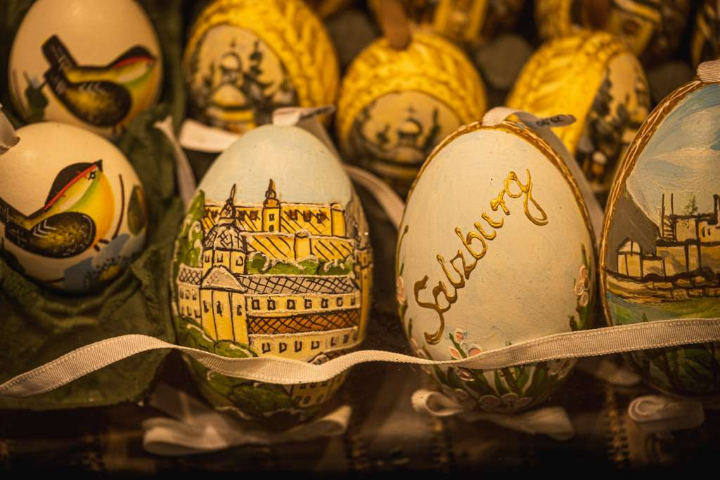 Oster- und Weihnachtsgeschäft in Salzburg