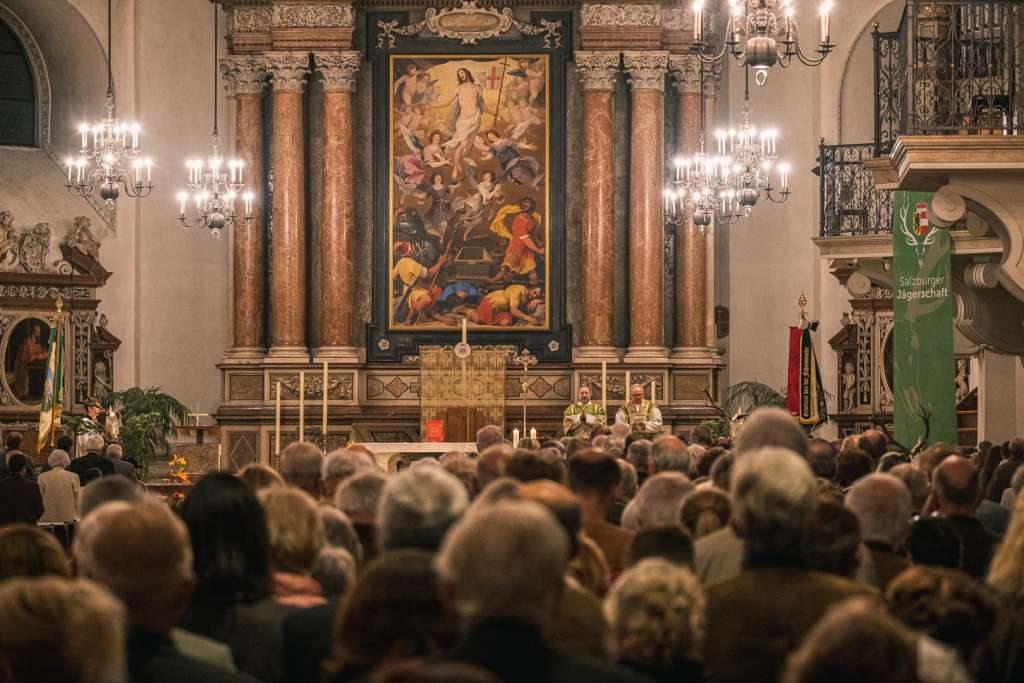 Easter Mass at the Cathedral of Salzburg