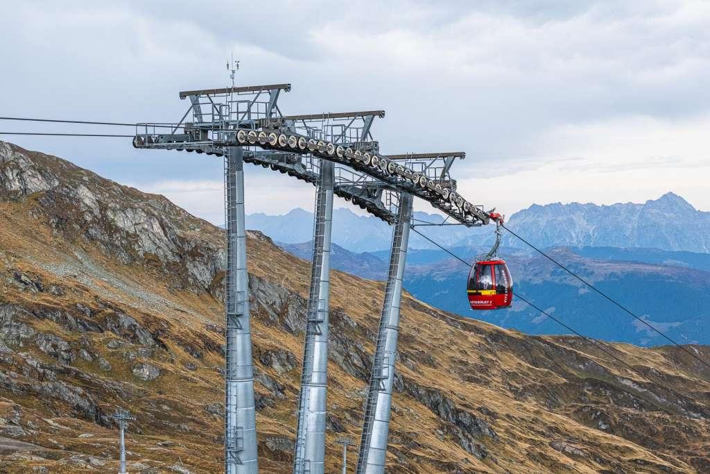 Gletscherjet 2 Cable Car to Kitzsteinhorn