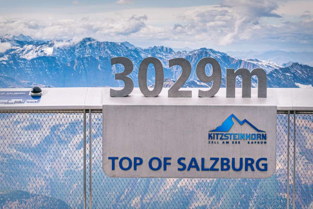 Top of Salzburg at Kitzsteinhorn