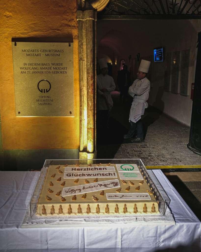 Mozarts Geburtstagsfeier im Geburtshaus in Salzburg