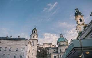 Michaelskirche, Salzburger Dom, Festung Hohensalzburg