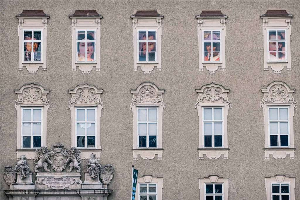 The Old Residence of the Archbishop in Salzburg