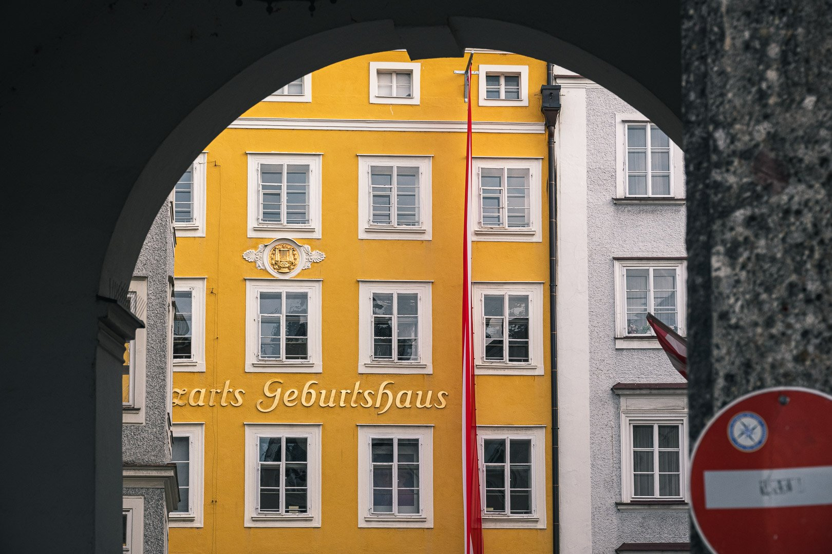 The most important Sight in Salzburg is Mozart Birthplace in Getreidegasse in Salzburg