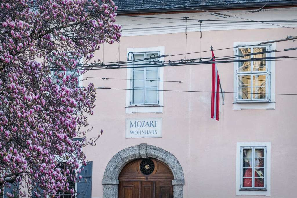 The Main Entrance of Mozarts Residence