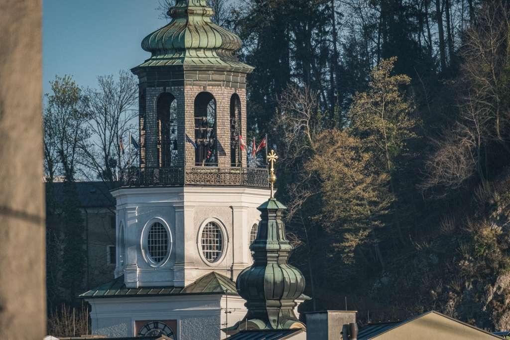 Der Glockenturm der neuen Residenz