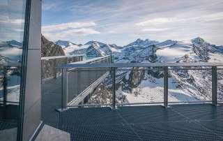 Aussicht vom Kitzsteinhorn