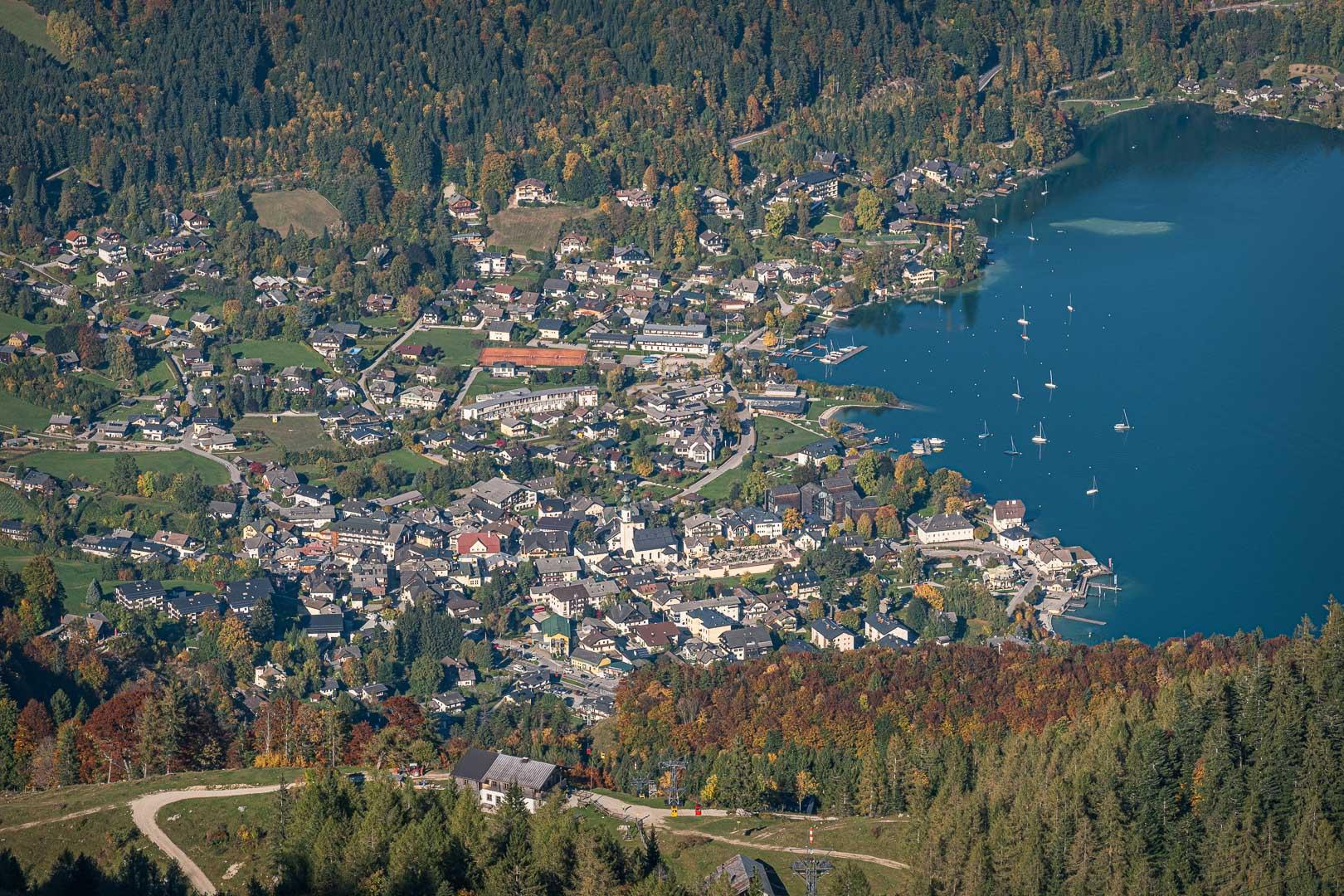 St. Gilgen im Salzkammergut, Seengebiet in Salzburg