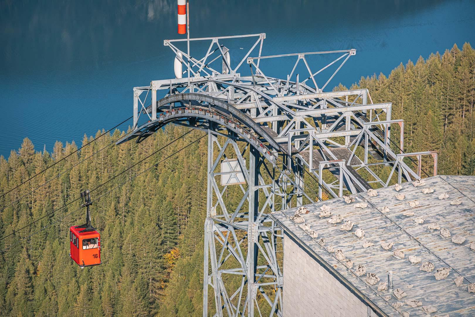Bergstation der Zwölferhornbahn in Sankt Gilgen
