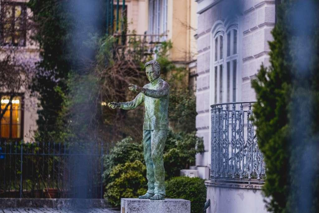 Herbert von Karajan von Anna Chromy
