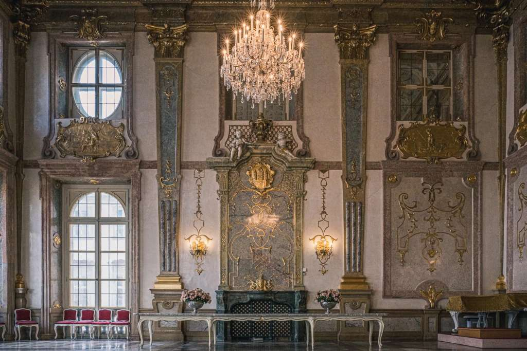 Marbel Hall at Mirabell Palace in Salzburg