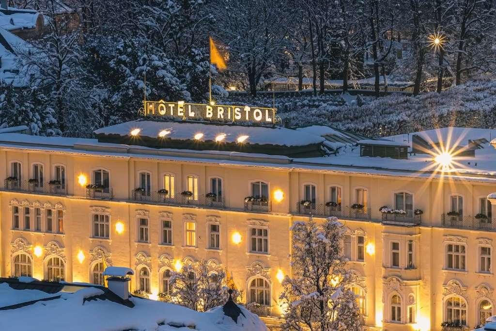 Hotel Bristol Salzburg im Winter