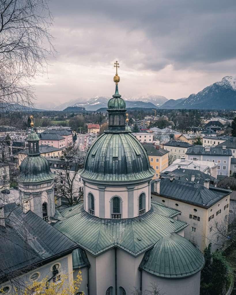 Saint Erhard's Church in Salzburg