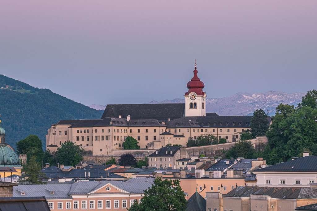 Nonnberg Abbey in Salzburg