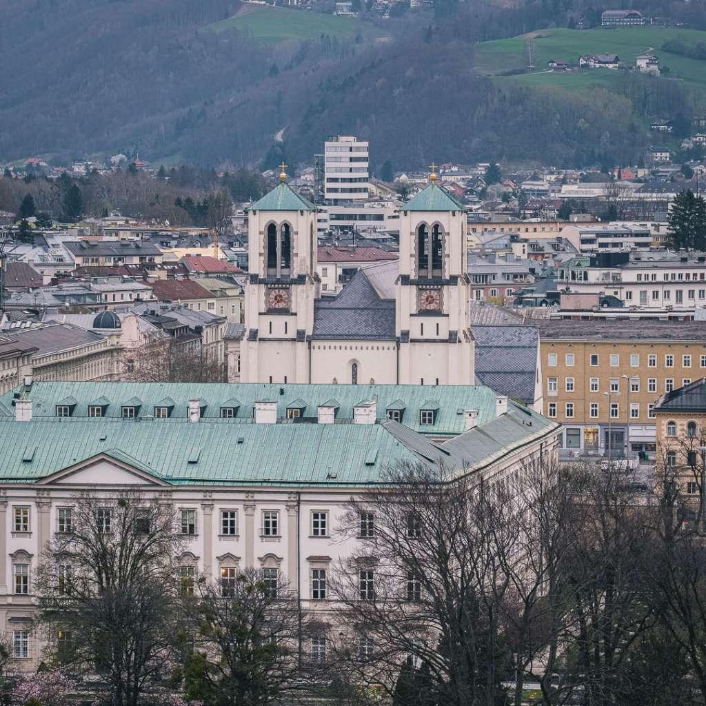 Saint Andrews Church in Salzburg