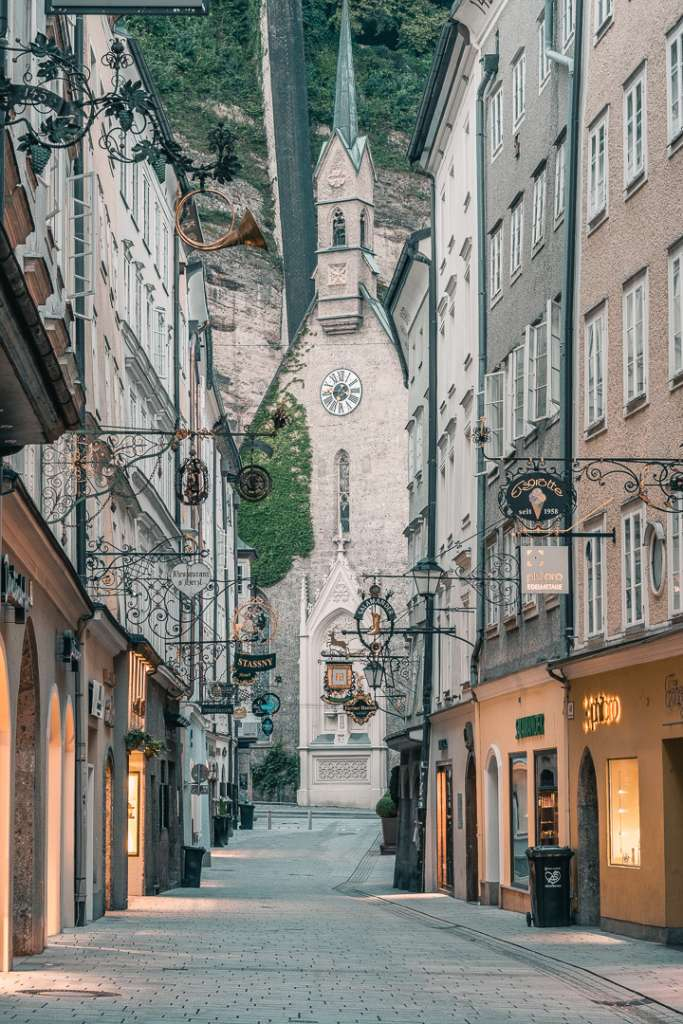 Saint Blaise Church Salzburg