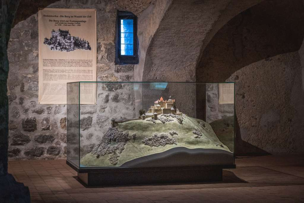Museum at the Werfen Fortress