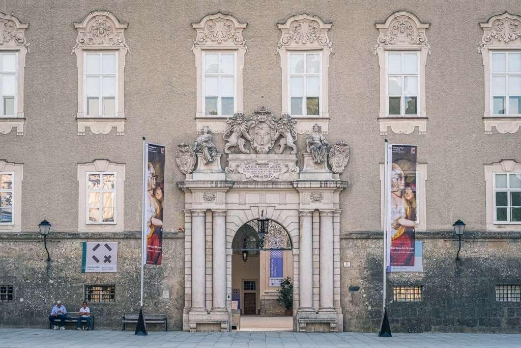 Domquartier Museum in Salzburg