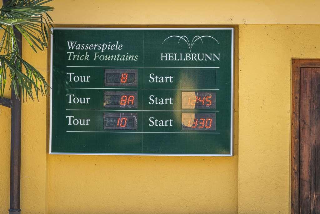 Trick Fountains Tour in Hellbrunn