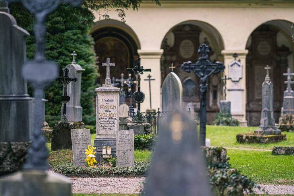 The Mozart Family Grave in Salzburg
