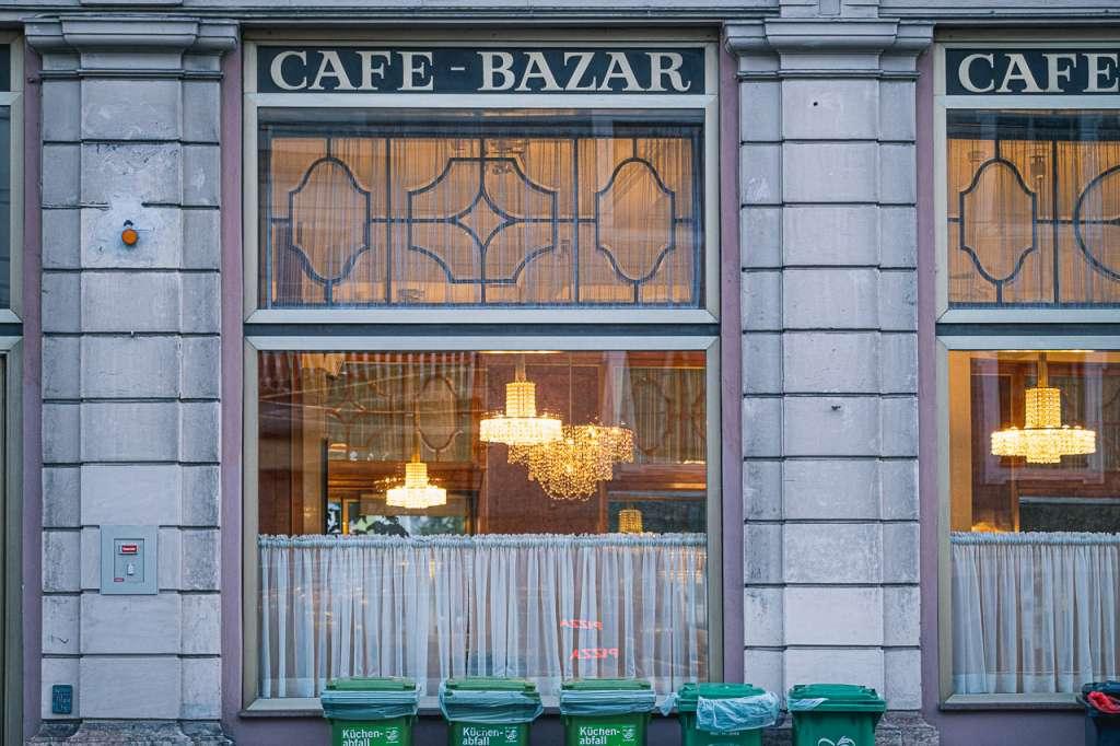 Cafe Bazar Traditional Austrian Coffee House Schwarzstraße