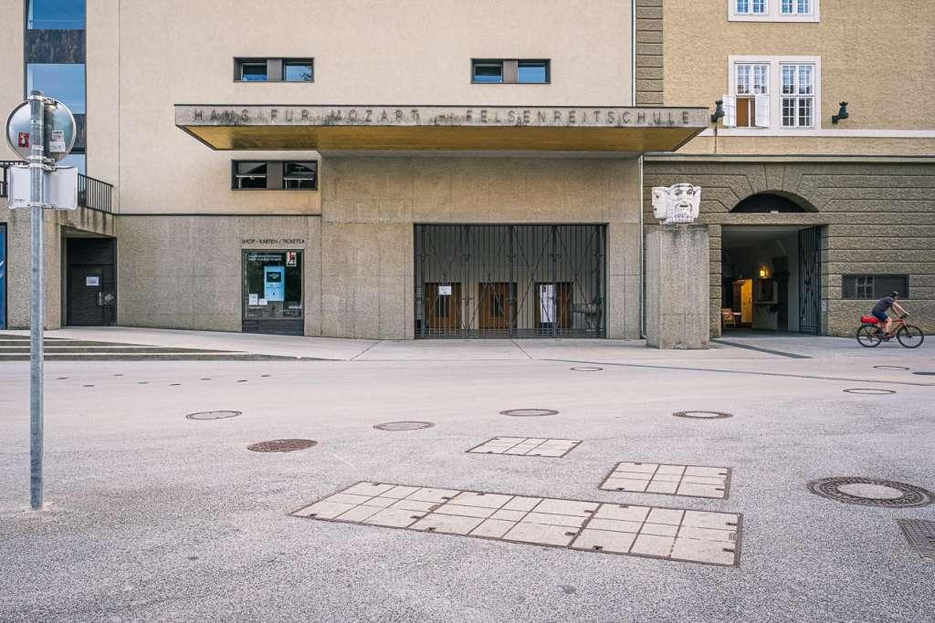 Concert Hall Haus für Mozart Felsenreitschule Salzburg