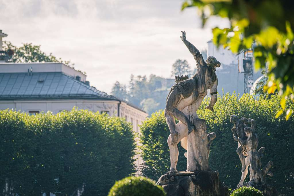 Mirabell Garden Mythological Statues