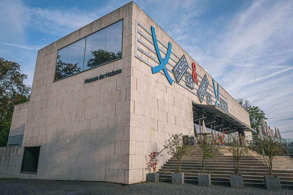 Museum of Modern Art Salzburg Mönchsberg